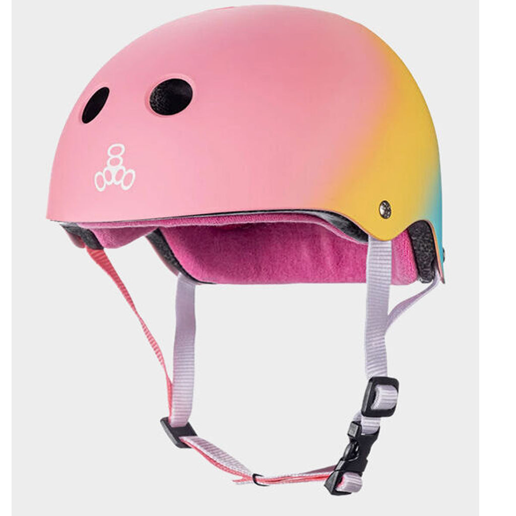 Skateboard Helmet Triple 8 - Multi - Seaside Surf Shop