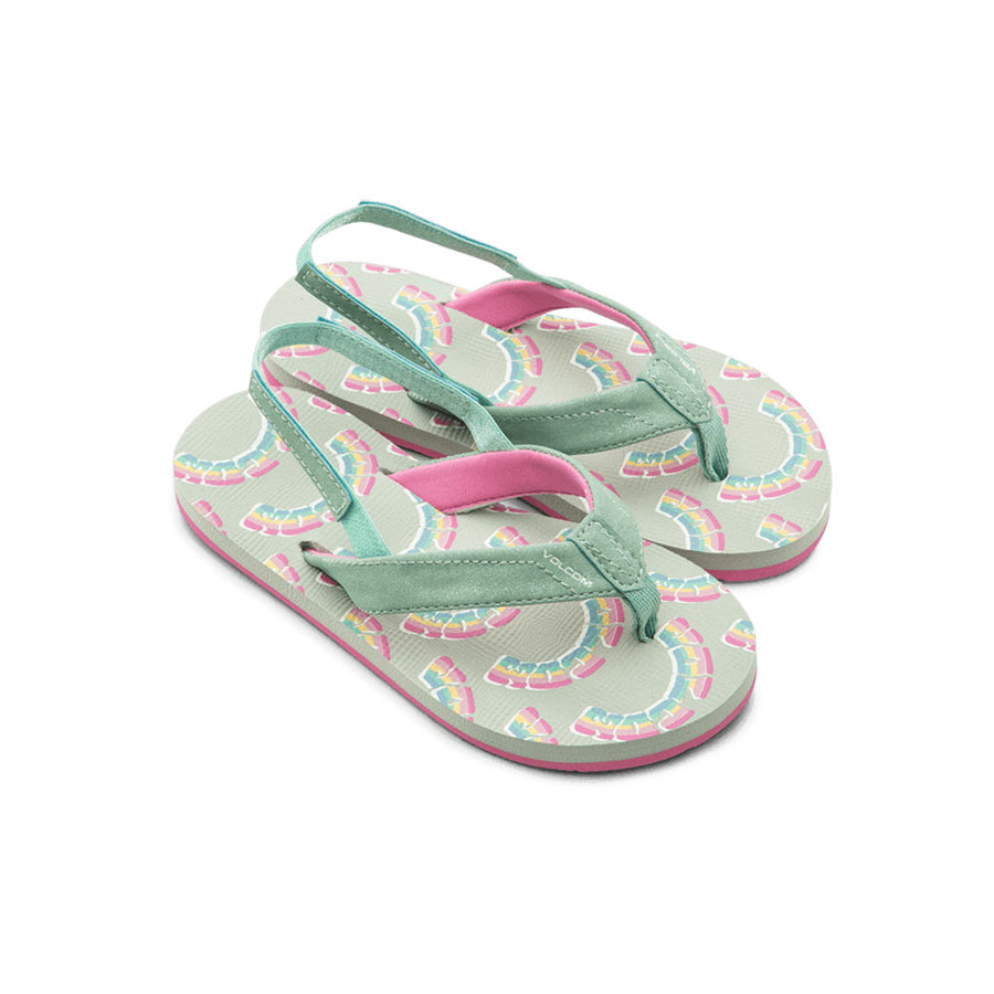 Volcom Little Girls Volcom Vicky Sandals - Sea Glass