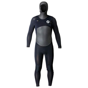 Isurus Ti-Evade Mens 4.3mm Hooded Wetsuit - Black