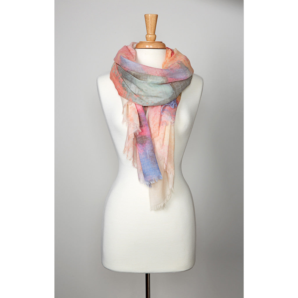 -Apparel Accessories-Prana Womens Alesso Scarf - Cameo Rose-Prana-Seaside Surf Shop