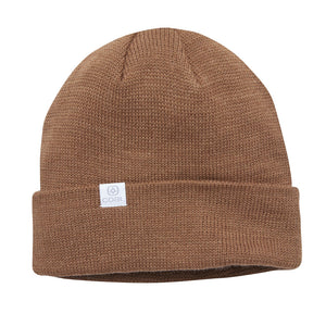Coal Mens The FLT Beanie - Light Brown, Apparel Accessories, Coal Headwear, Beanies, Coal Headwear Fall 2019 Collection