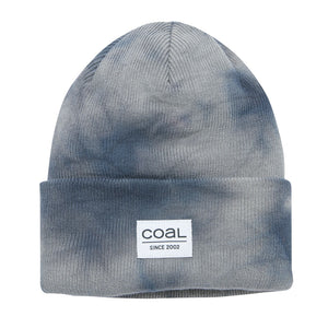 Coal Mens The Standard Beanie - Grey Tie Dye, Apparel Accessories, Coal Headwear, Beanies, Coal Headwear Fall 2019 Collection