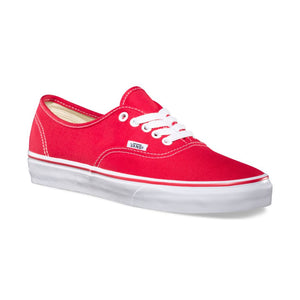 Vans Authentics Shoes - Red