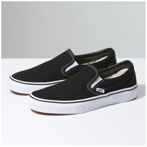 Vans Slip On Shoes - Black-Vans-Seaside Surf Shop
