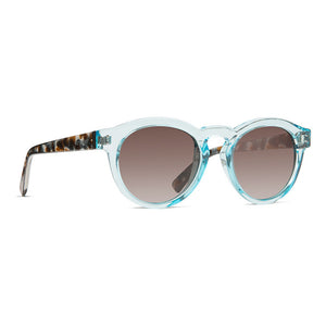 Von Zipper Ditty Sunglasses - Powder Quartz Tortoise/Brown Gradient