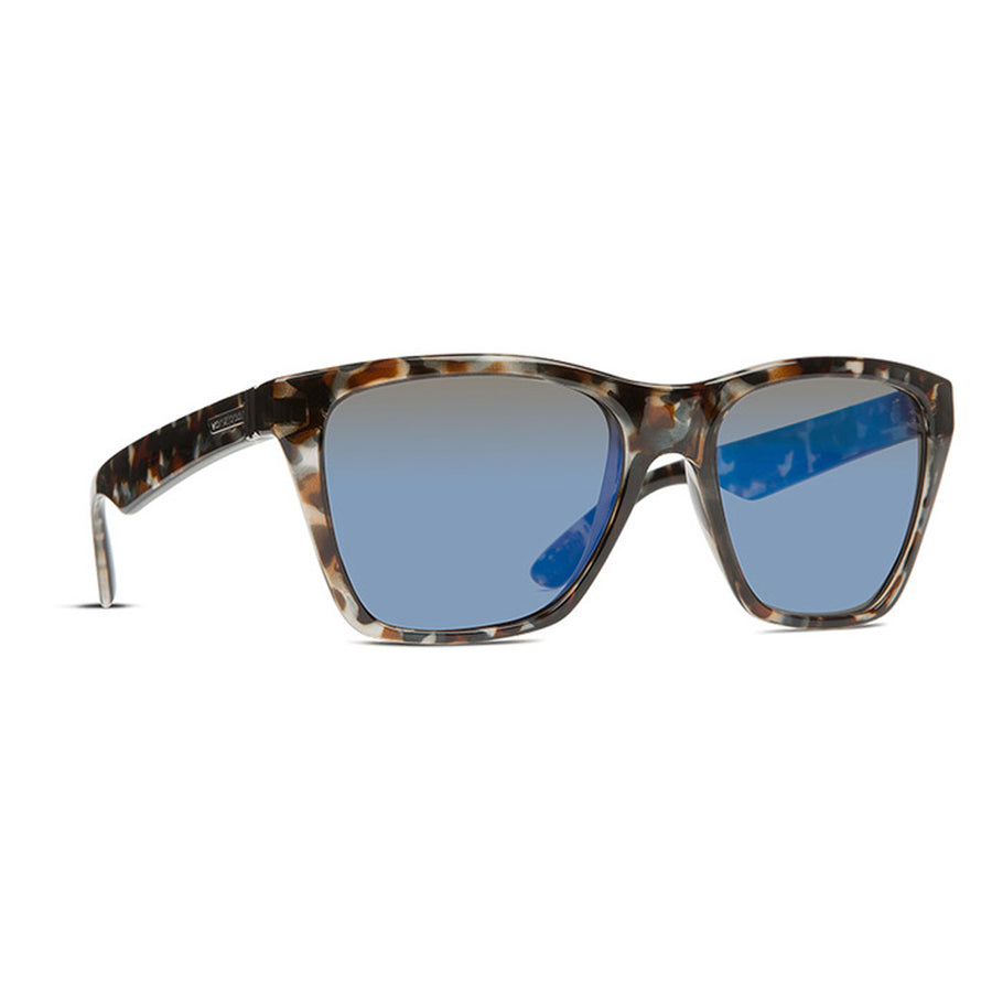 Von Zipper Booker Sunglasses - Quartz Tort/Blue Chrome