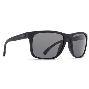 Von Zipper Lomax Sunglasses - Black Satin/Grey