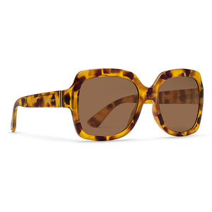 Von Zipper Dolls Sunglasses - Spotted Tort/Bronze