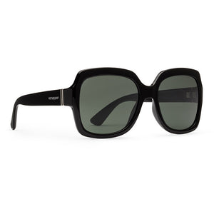Von Zipper Dolls Sunglasses - Black Gloss/Vintage Grey