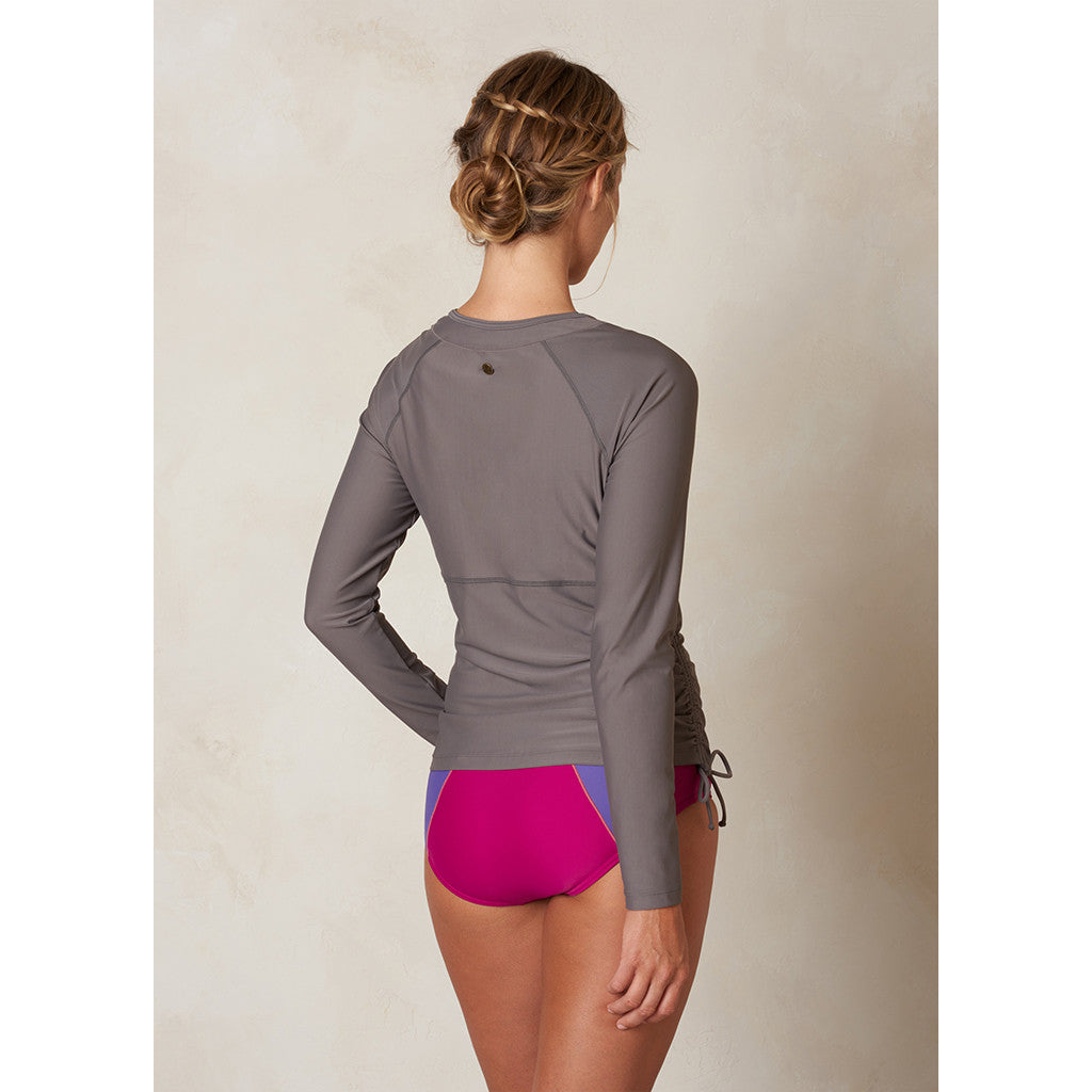 Prana Womens Arwyn L/S Sun Top - Moon Rock