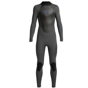 Xcel Axis X Youth's 4/3mm Backzip Wetsuit - Jet Black