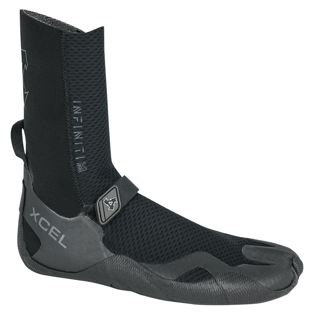 Xcel Infiniti 5mm Round Toe Boot - Black - Seaside Surf Shop
