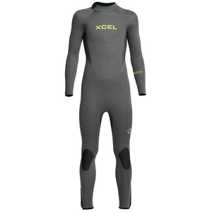 Xcel Axis Youth 5/4mm Backzip Wetsuit - Graphite