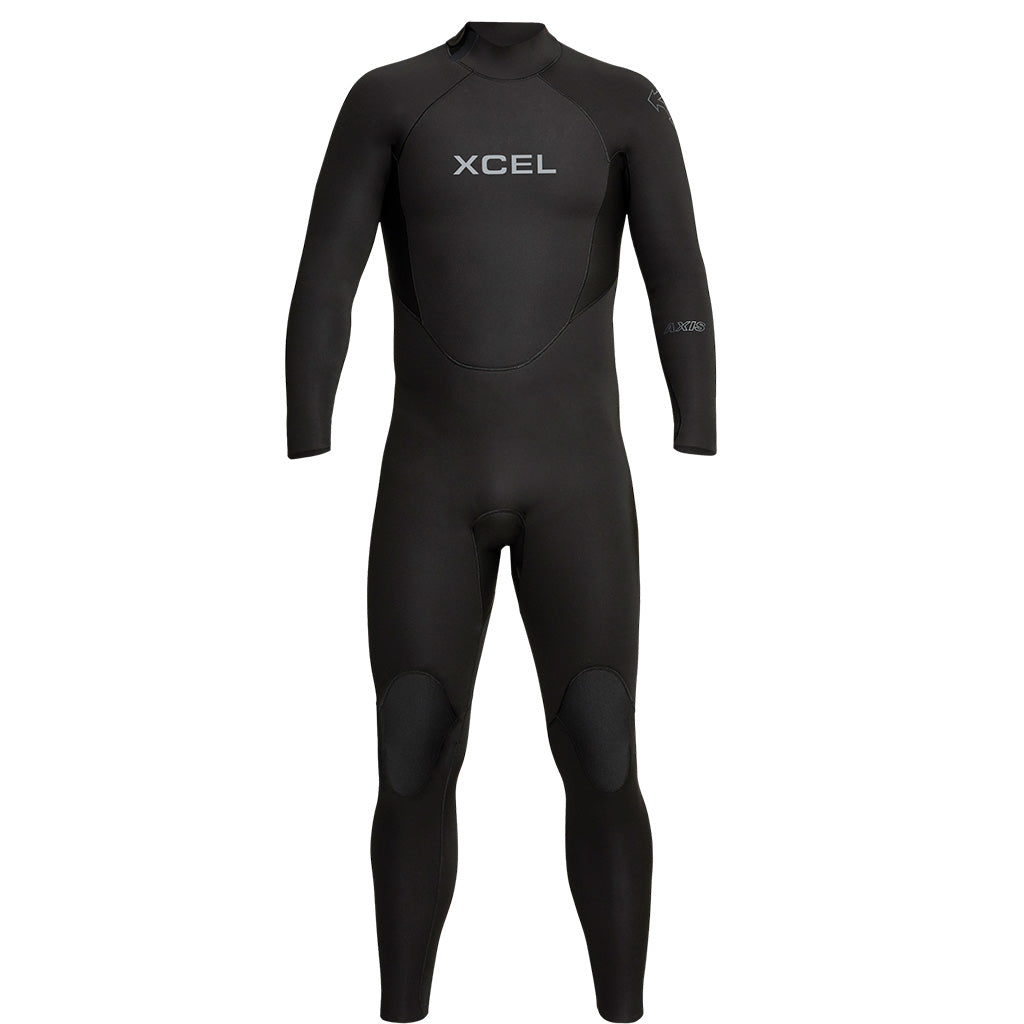 Xcel Axis Men's 5/4mm Backzip Wetsuit - Black - Seaside Surf Shop