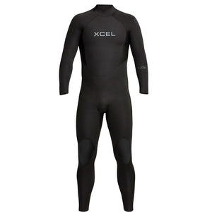 Xcel Axis Men's 5/4mm Backzip Wetsuit - Black