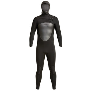 Xcel Axis Men's 5/4mm Hooded Wetsuit - Black