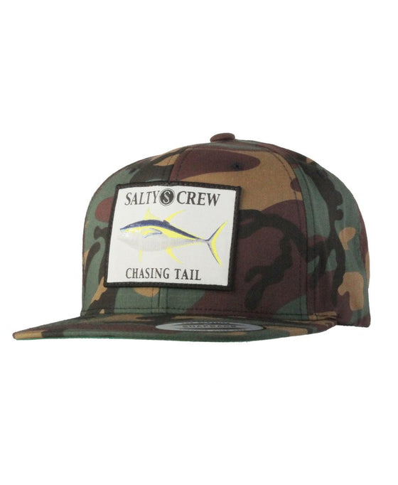 -Apparel Accessories-Salty Crew Mens Ahi Patched Hat - Camo-Salty Crew-Seaside Surf Shop