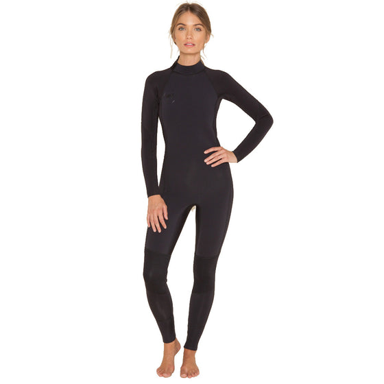 -Wetsuits-Amuse Surf Series 4/3mm Womens Wetsuit - Black Sands-Amuse Wetsuits-Seaside Surf Shop