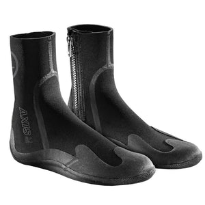 Xcel Youth Axis 5mm Round Toe Zip Boot-Xcel Wetsuits-Seaside Surf Shop