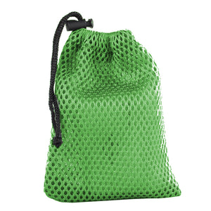 "Armor Bags, Outdoor, Armor Bags, Outdoors/Camping, Heavy duty mesh bag built to last by Armor Products. Great for transport and storage of wetsuits, wetsuit gear, snorkeling equipment and hanging wet gear to dry. Coated 2000 Denier Mesh Fiber Extra Strong Tight Weave Mesh Ends 18"" X 30"" Drawstring Closure w/ String Lock"