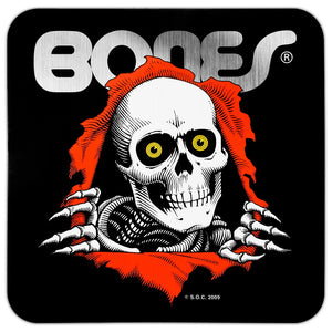 Powell Peralta Ripper Bumper Sticker 5x5 - Black
