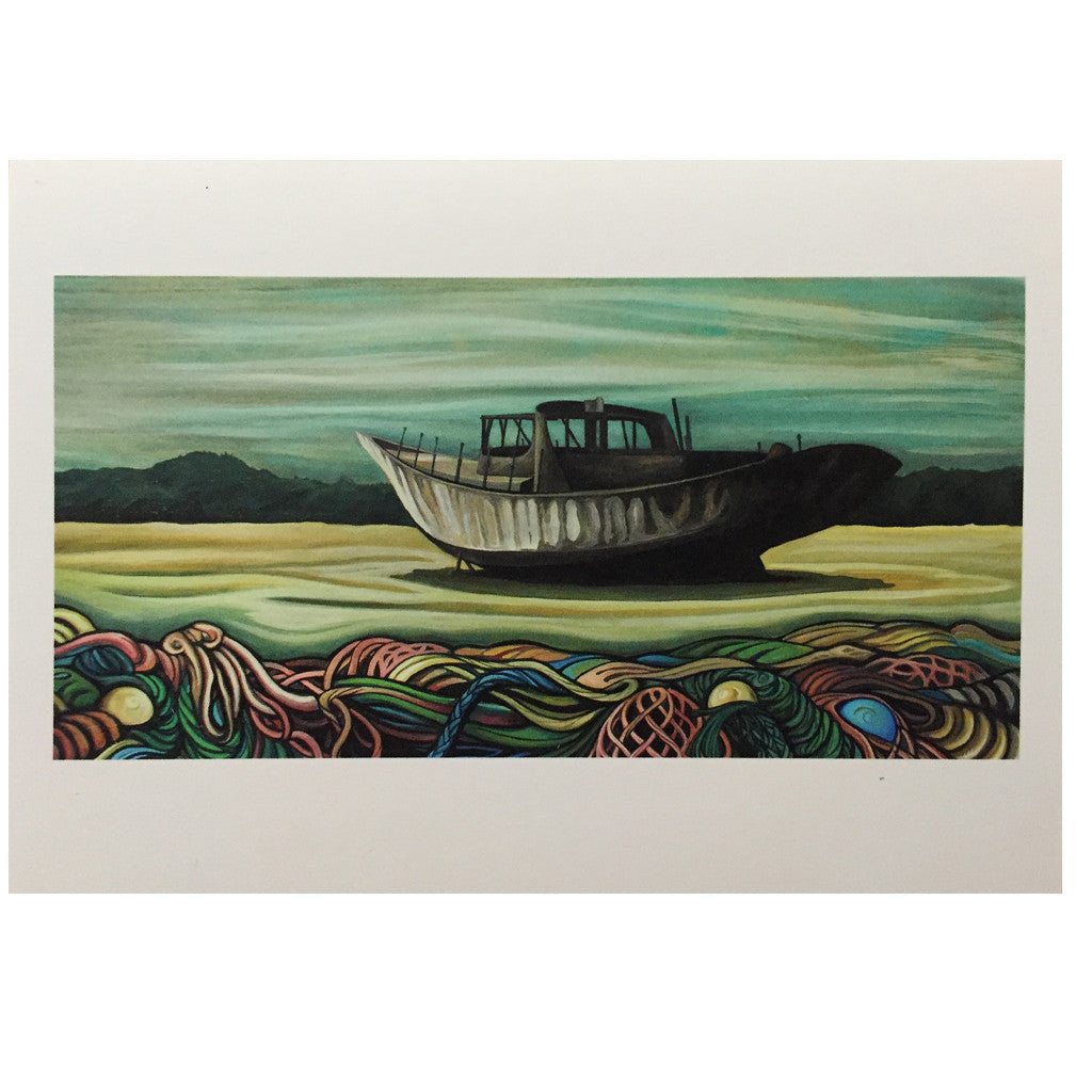 -Artwork-Lori LaBissoniere Mounted Prints - 8x12-Drift Awake-Seaside Surf Shop