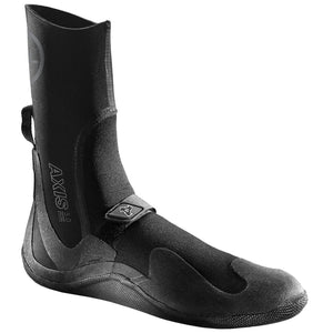 Xcel Axis 5mm Round Toe - Black-Xcel Wetsuits-Seaside Surf Shop