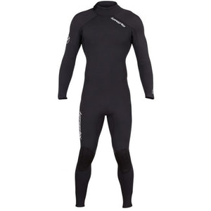 Hyperflex VYRL Mens 4/3m  Back Zip  Fullsuit - Black