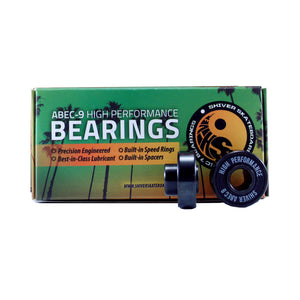 Shiver ABEC 9 Skateboard Bearings-Shiver-Seaside Surf Shop