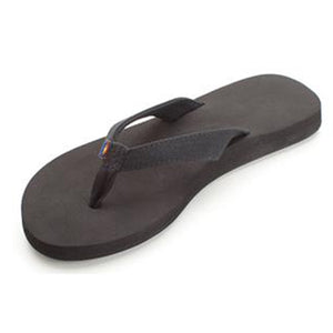 -Footwear-Rainbow Sandals Womens Bella - Black-Rainbow Sandals-Seaside Surf Shop