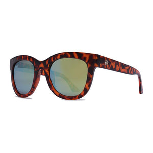 Crush Eyes Sunglasses Bellisimo - Tortoise/Bronze Mirrored