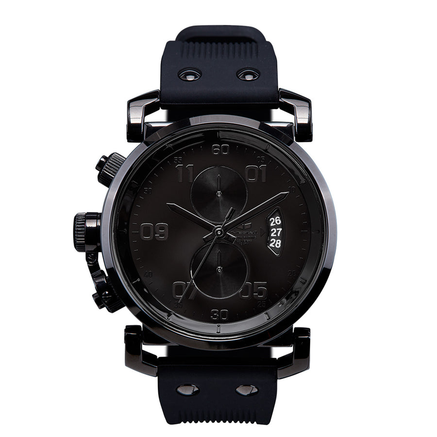 Vestal USS Observer Chrono - Black-Vestal-Seaside Surf Shop