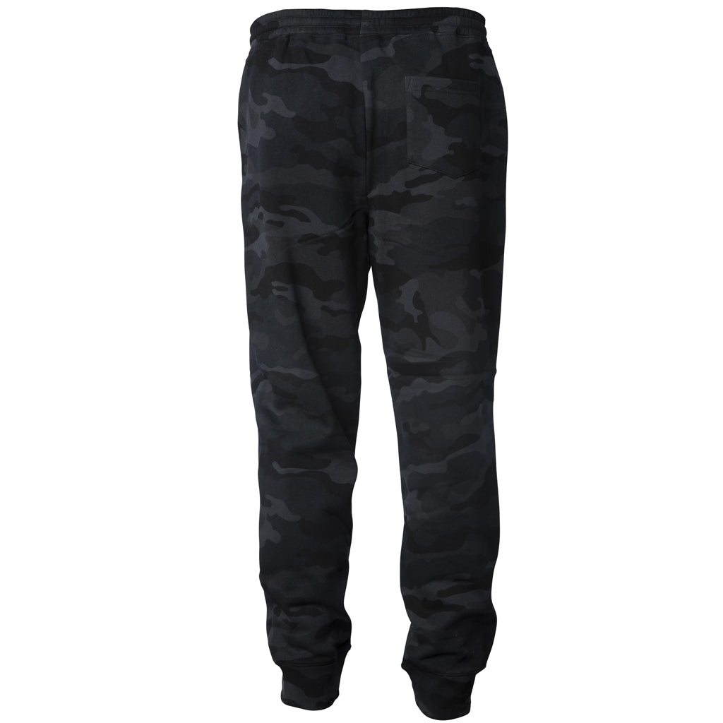 Seaside Surf Shop Mens Sweatpants - Black Camo - Seaside Surf Shop