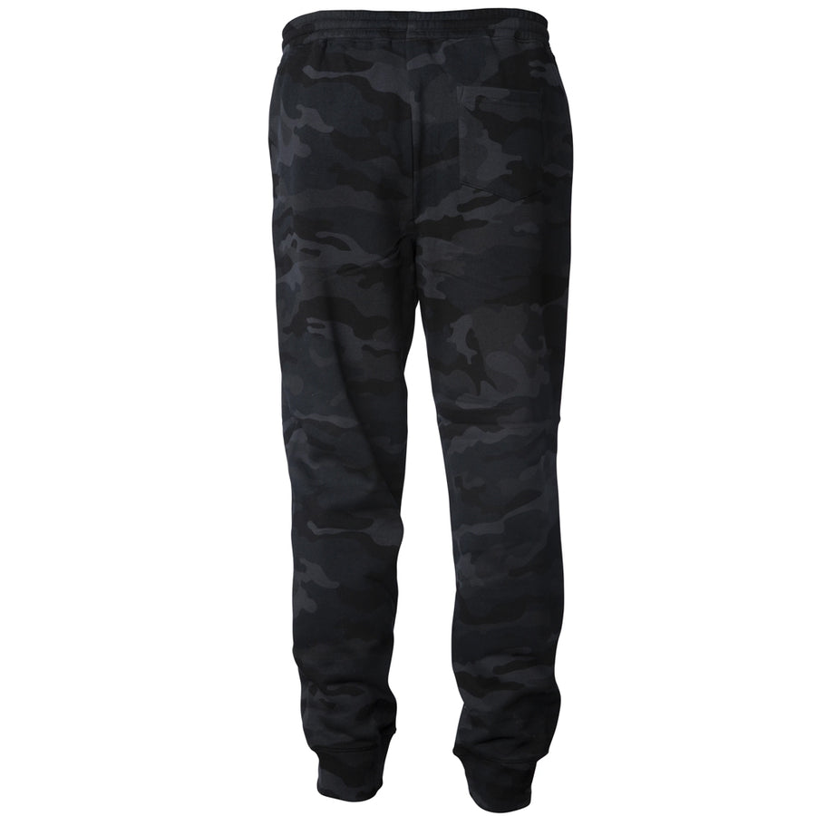 Seaside Surf Shop Mens Sweatpants - Black Camo
