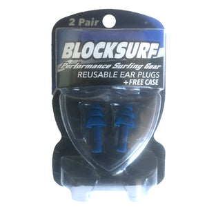 Blocksurf Standard Reusable Surfing Earplugs