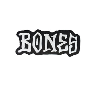 "-Stickers-Stik Bones 3"" - Black-Bones-Seaside Surf Shop"