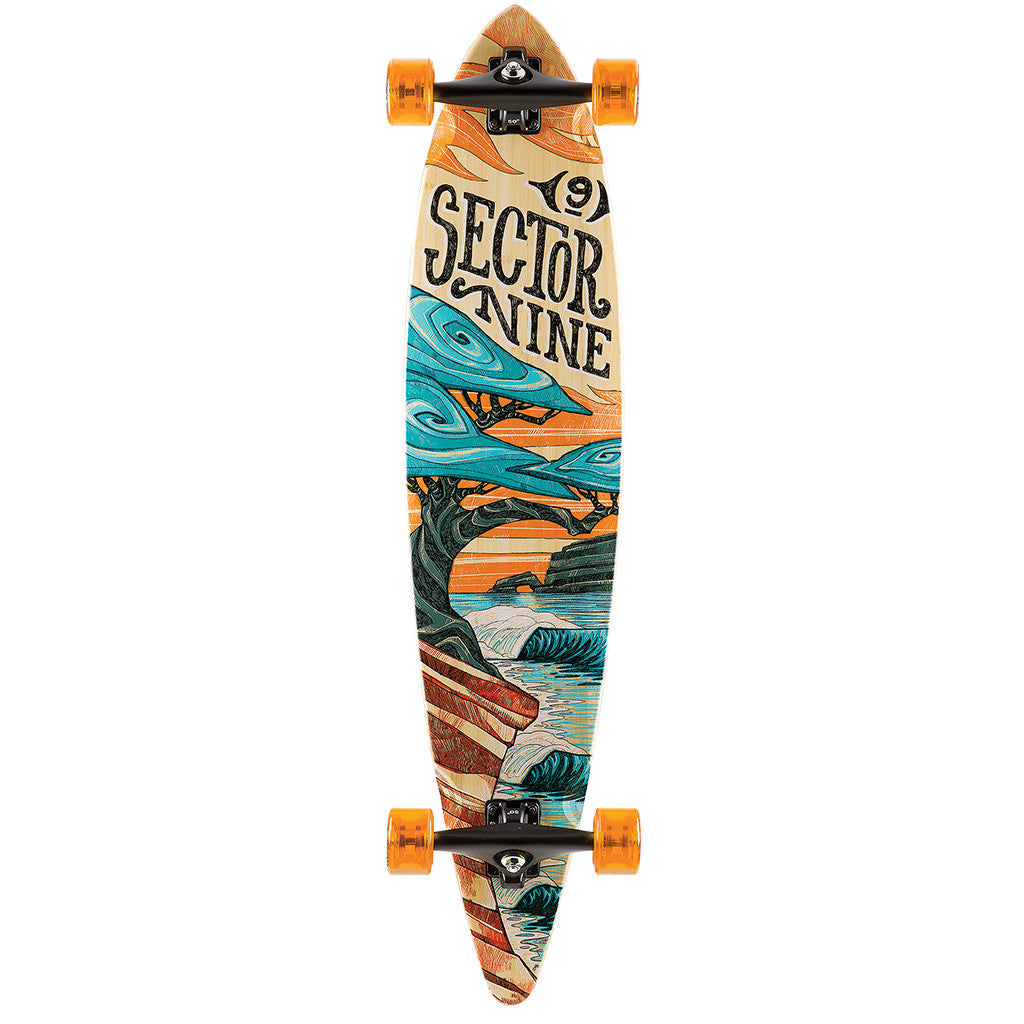 "-Skate-Sector 9 Bonsai Complete - 42""-Sector 9-Seaside Surf Shop"