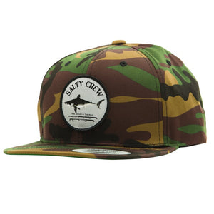Salty Crew Mens Bruce 6 Panel Cap - Camo
