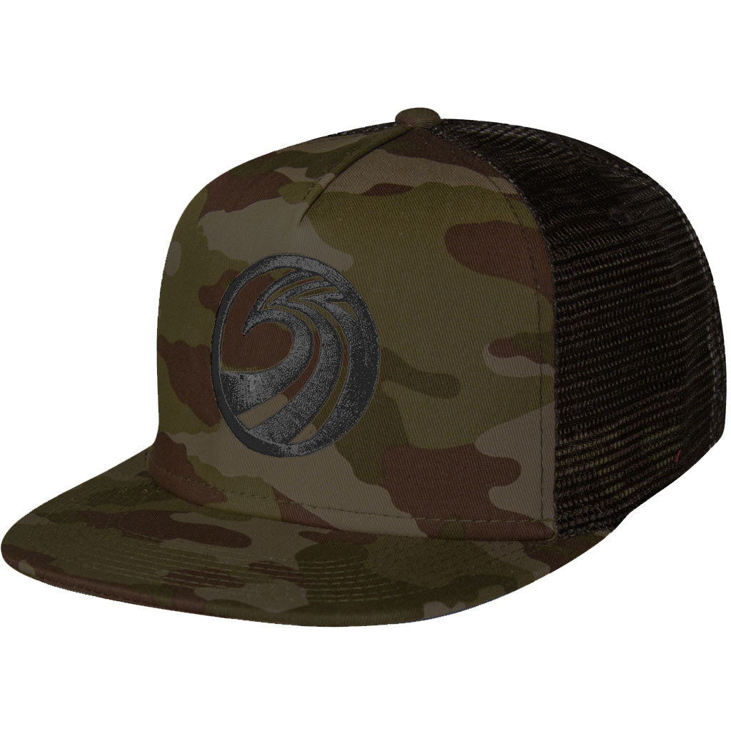 Seaside Surf Shop New Wave Mesh Cap - Camo