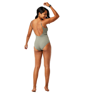 Carve Designs Womens Villa One Piece - Moss