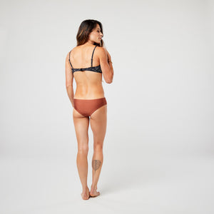 Carve Designs Womens La Jolla Reversible Bottom - Black/Cinnamon Shimmer