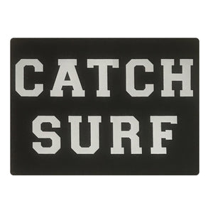 "Catch Surf University Sticker - 5""x4"" Black"