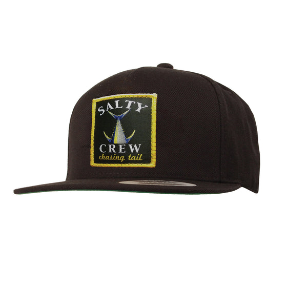 -Apparel Accessories-Salty Crew Mens Chasing Tail Hat - Black-Salty Crew-Seaside Surf Shop