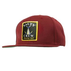 -Apparel Accessories-Salty Crew Mens Chasing Tail Hat - Burgundy-Salty Crew-Seaside Surf Shop