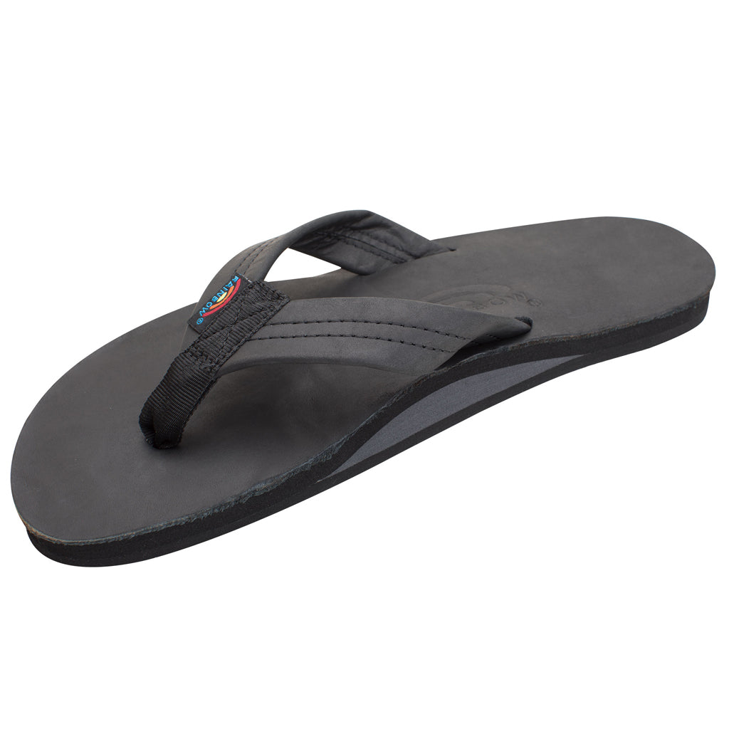 Rainbow Sandals Mens Classic Leather - Classic Black - Seaside Surf Shop