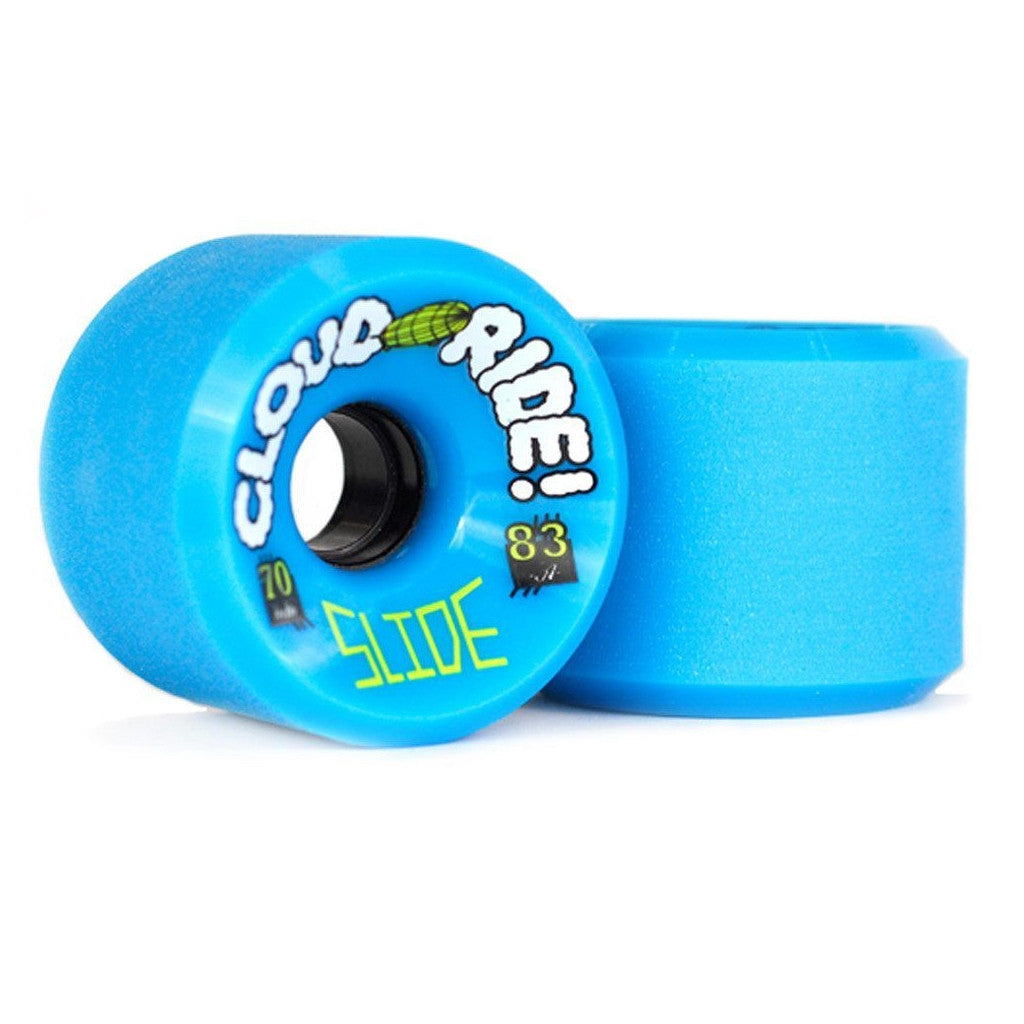 -Skate-Cloud Ride Freeride Wheels - Blue-Cloud Ride-Seaside Surf Shop