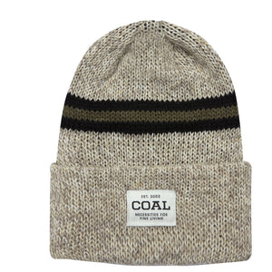 Coal Uniform SE Scott Stevens Cuff Beanie - Natural