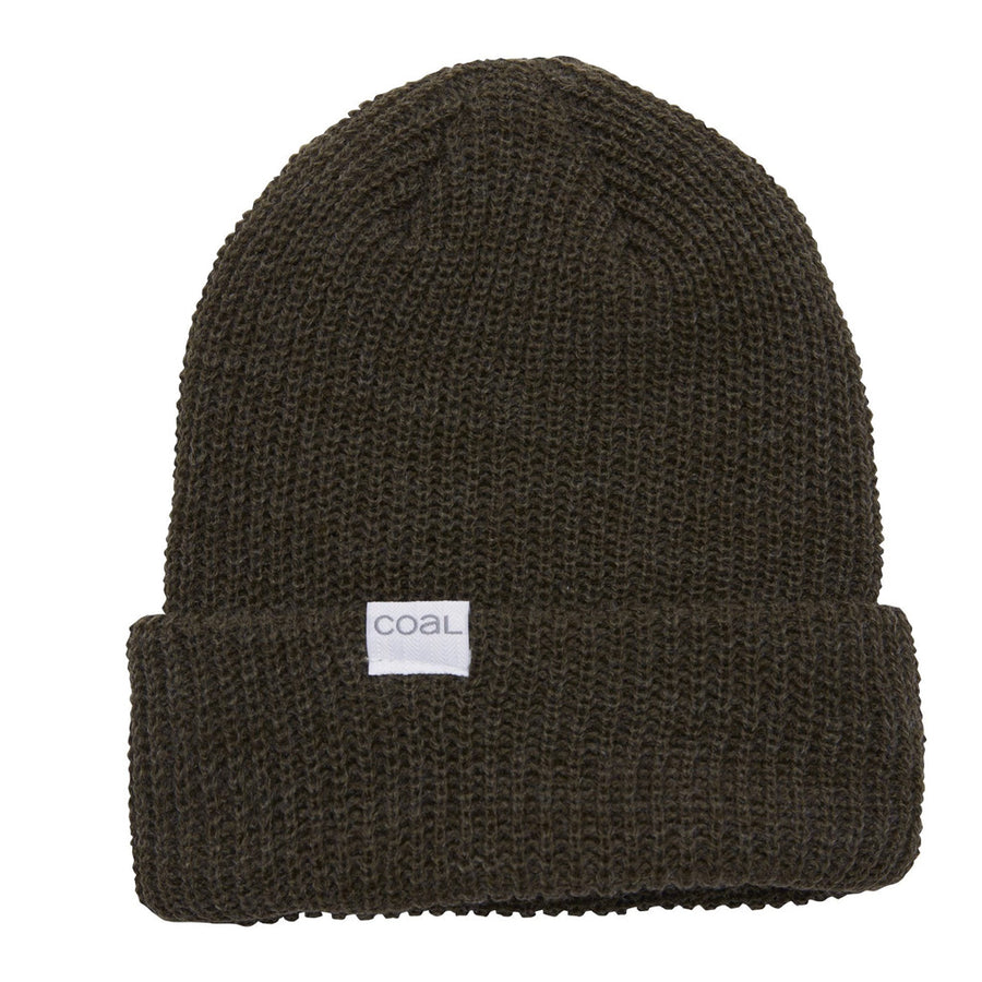 Coal Mens The Stanley Beanie - Heather Olive