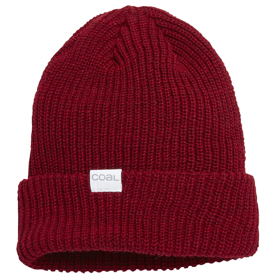 Coal Mens The Stanley Beanie - Dark Red Heather