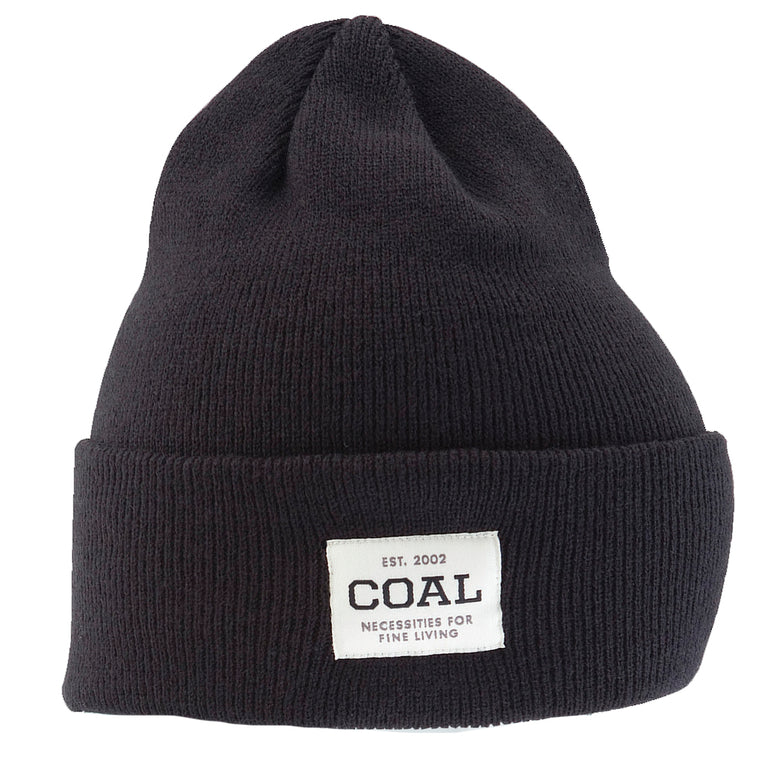 -Apparel Accessories-Coal Mens The Uniform Beanie - Black-Coal Headwear-Seaside Surf Shop